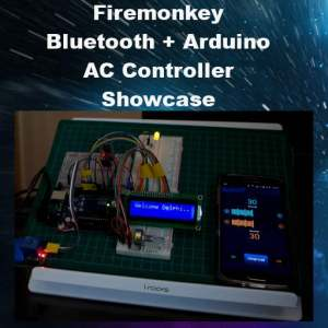 Delphi XE8 Firemonkey Bluetooth Arduino Android Controller Code