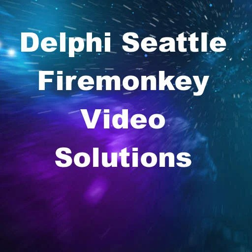 Record, Play, And Transcode Video With Firemonkey In #Delphi Seattle