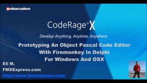 Free Code Editor With Source Code For Firemonkey In Delphi 10 Seattle On Windows And OSX