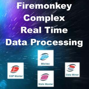 Delphi 10 Seattle Complex Math Data Process Android IOS Component Library
