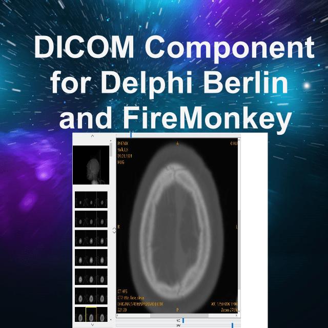 Medical Digital Imaging Component For FireMonkey In Delphi