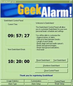 GeekAlarm! 2
