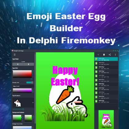 Emoji Easter Egg Builder Delphi Firemonkey