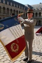 decoration du drapeau 2é REP