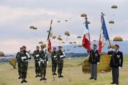 drapeau du regiment et des amicales