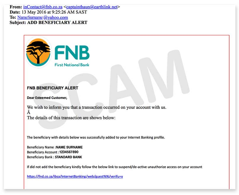 Banking Personal Fnb