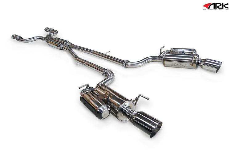 ARK GRiP Exhaust INFINITI Q40 (G35/G37) SEDAN (07+)