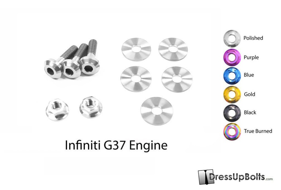 Infiniti G37 Coupe and Sedan (2008-2013) V36 Titanium