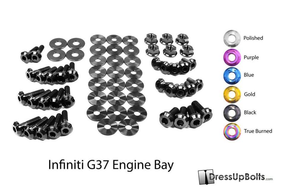 Infiniti G37 Coupe and Sedan (2008-2013) V36 Titanium