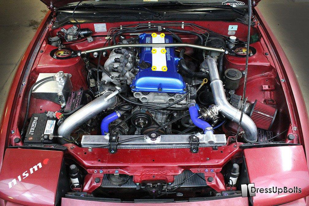 Ford 240 Engine Diagram Nissan S13 240sx 1989 1995 Titanium Dress Up Bolts