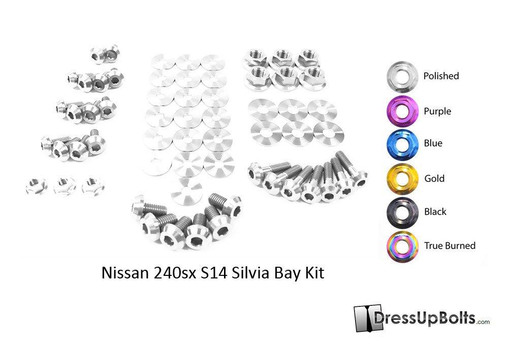 Nissan S14 240sx (1995-1998) Titanium Dress Up Bolts