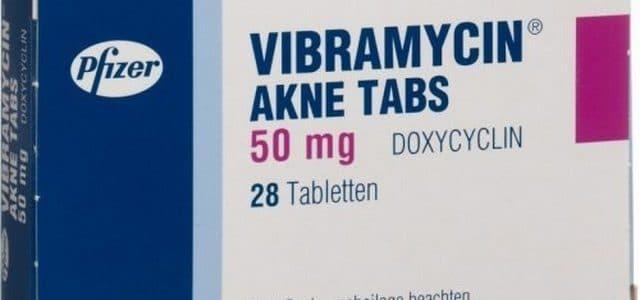 فيبراميسين Vibramycin افضل مضاد حيوي لعلاج التهاب المسالك البولية والسيلان