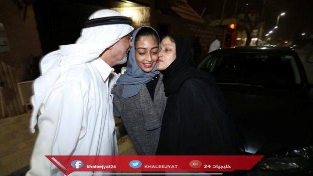 حالة المرأة السعودية مع أول يوم قياده