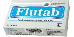 حبوب فلوتاب Flutab اقراص لعلاج الانفلونزا ومسكن للالام والصداع