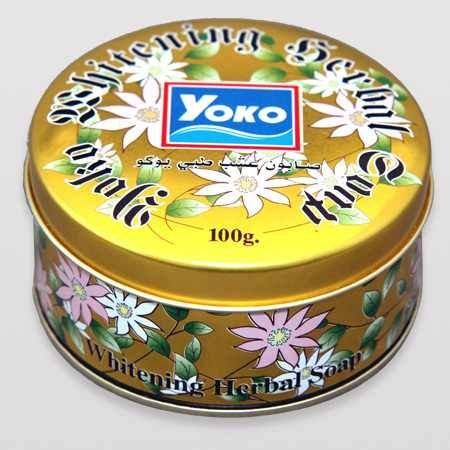 1- صابونة عشب طبي يوكو
