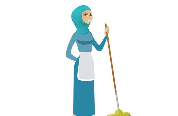 """نموذج استلام الراتب مكتب العمل """" العمالة المنزلية """""""