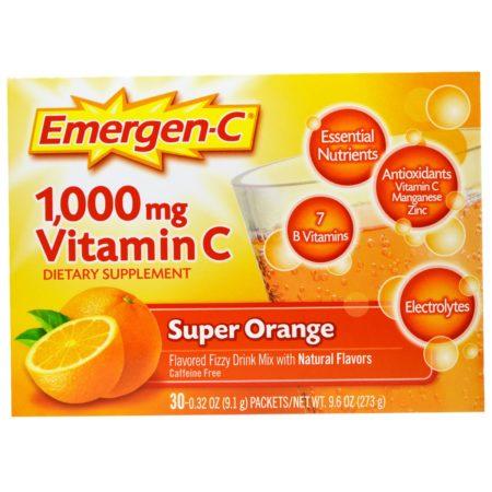 تجربتي مع شرب فيتامين سي الفوار وفائدته للتحنيف