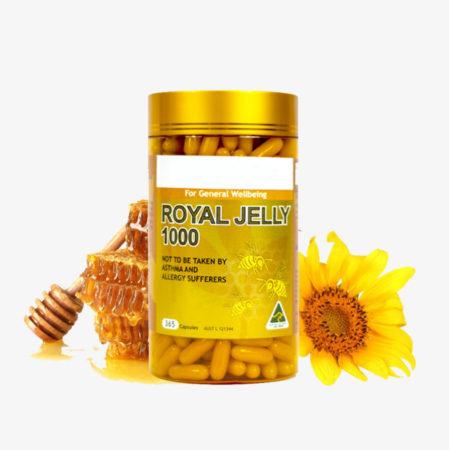 تجربتي مع حبوب رويال جيلي Royal Jelly غذاء ملكات النحل