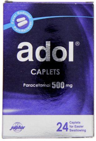 ادول ADOL مسكن قوي ويعالج الانفلونزا و نزلات البرد