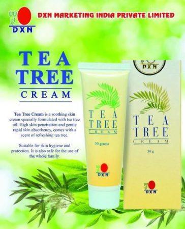 تجربتي مع كريم شجرة الشاي dxn وطريقة استخدامه