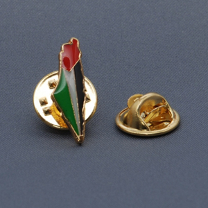 Palestine Map Badge