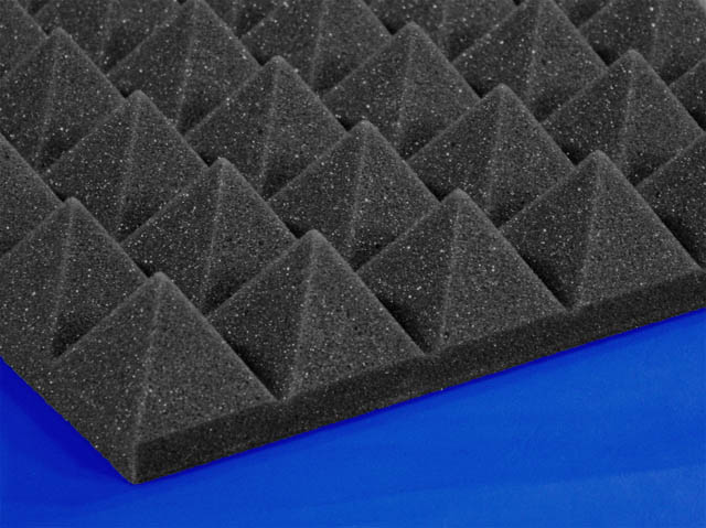 TwoInch Soundproofing Acoustical Pyramid Foam  Foam By Mail