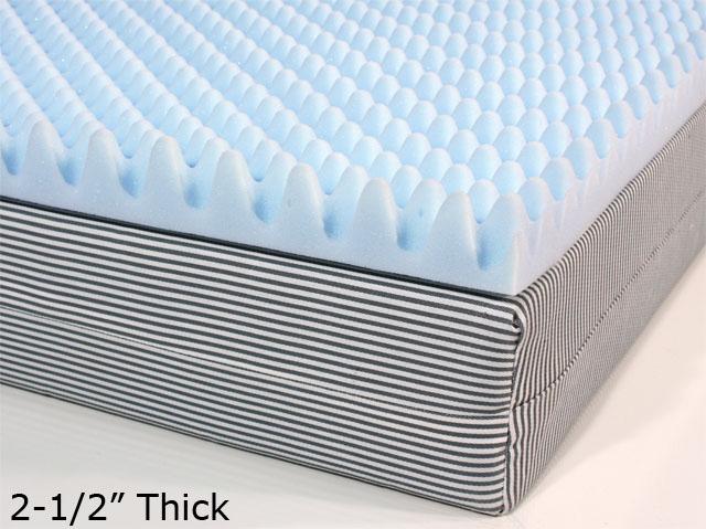 Egg Crate Mattress Pads Foamfactory Inc