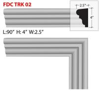 Out Door Stucco Foam Window/Door Trim FDC TK 02