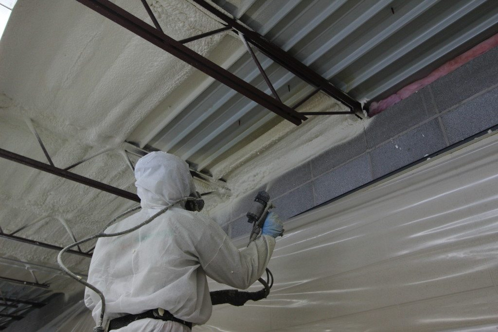 Ceiling Building Metal Garage Insulation