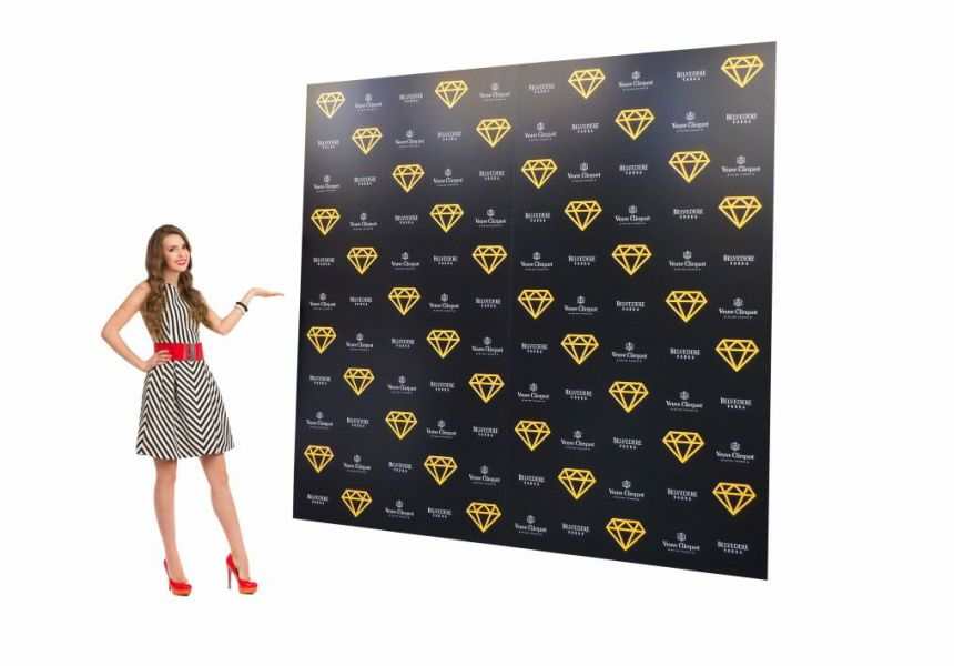 Photo Backdrop Media Boards Press Backdrop Stands Step And Repeat Background Displays