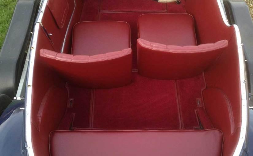 Frazer Nash Car Seat Interiors