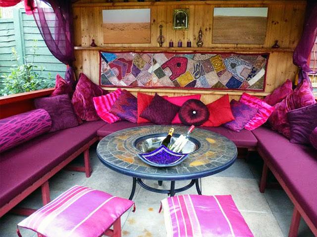 Foam for Comfort Outdoor gazebo cushions