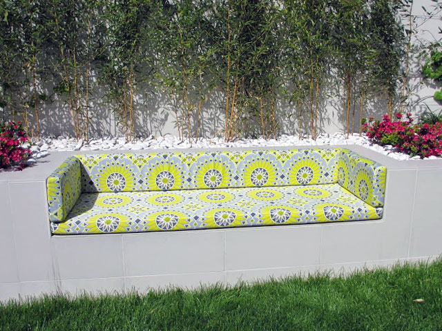 Foam For Comfort Outdoor Bench Cushions