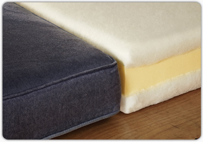 Polyester Fibre Wraps from Foam for Comfort