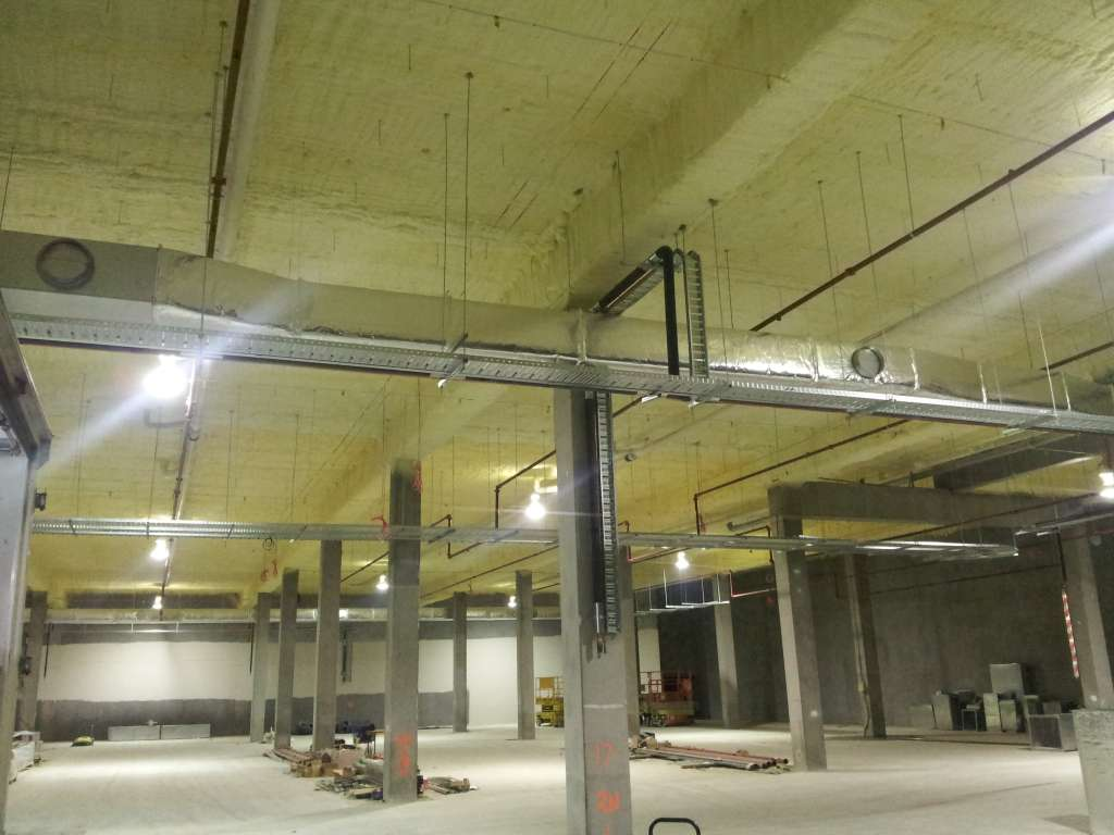 Commercial Warehouse Spray Foam Insulation