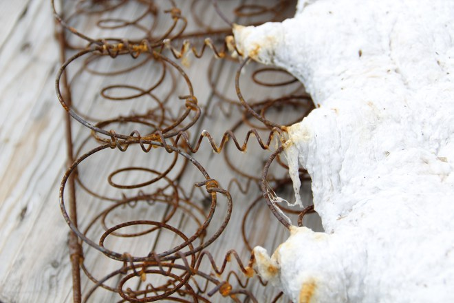 Metal Springs in Old Mattress