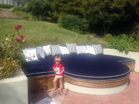 Patio Furniture Cushions Outdoor Foam Outdoor Mattress