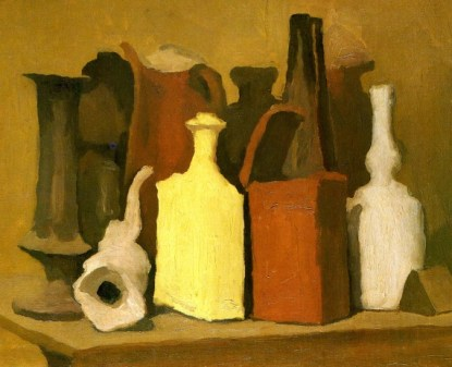 Natura morta cubista (1914) di Giorgio Morandi.