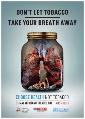 Giornata mondiale senza tabacco, World No Tobacco Day