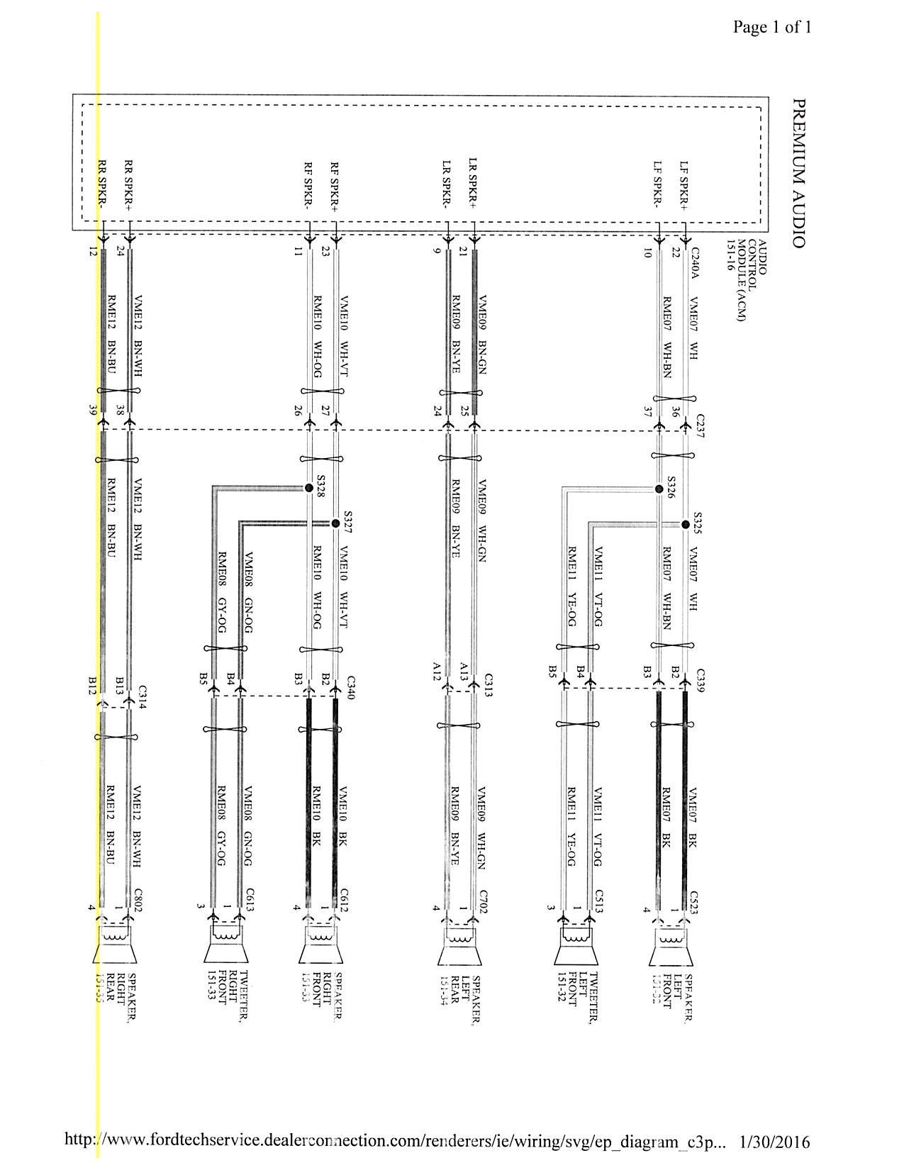 Ford Festiva Stereo Wiring Diagram