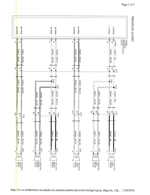 small resolution of 2015 focus mk3 5 stereo wiring diagram ford focus forum ford rh focusfanatics com