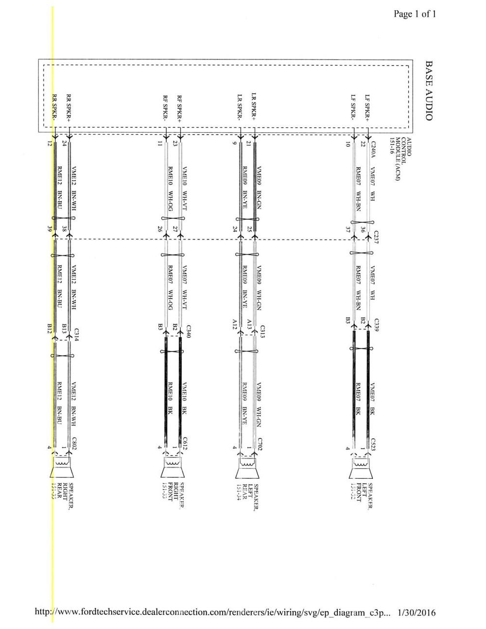 medium resolution of 2015 focus mk3 5 stereo wiring diagram wiringdiagrambase jpg