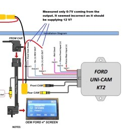 power ford focus backup camera wiring wiring diagram centre my backup camera install lock pick page [ 1368 x 740 Pixel ]