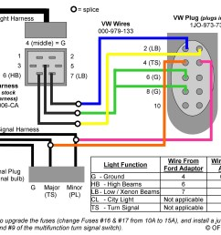 headlight wiring question ford focus forum ford focus 2003 vw beetle radio wiring diagram 1998 vw [ 2856 x 2196 Pixel ]