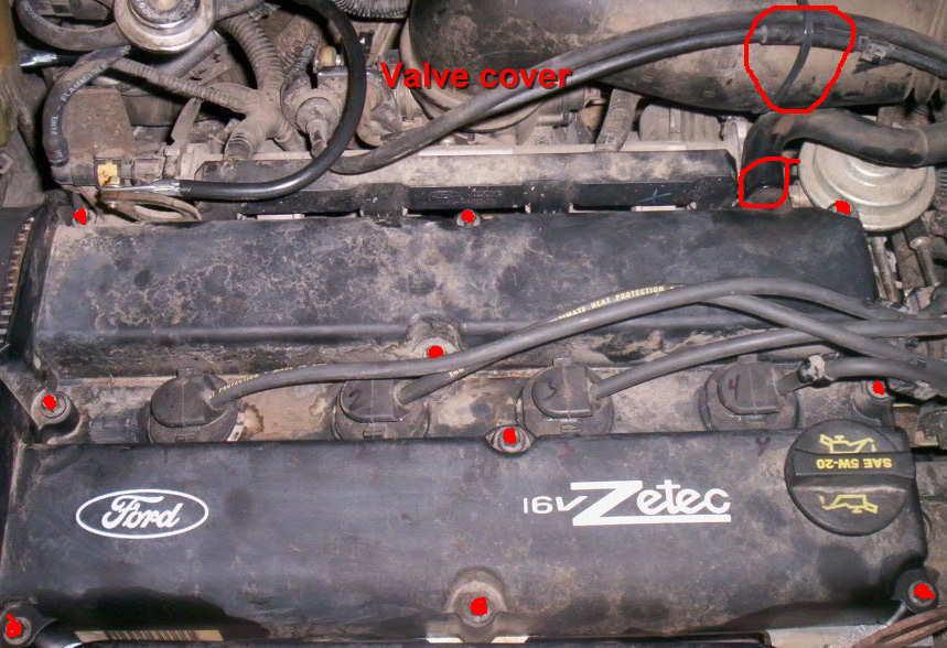 03 focus belt diagram troy bilt bronco mower zetec timing replacement ford forum st valve cover ready start jpg