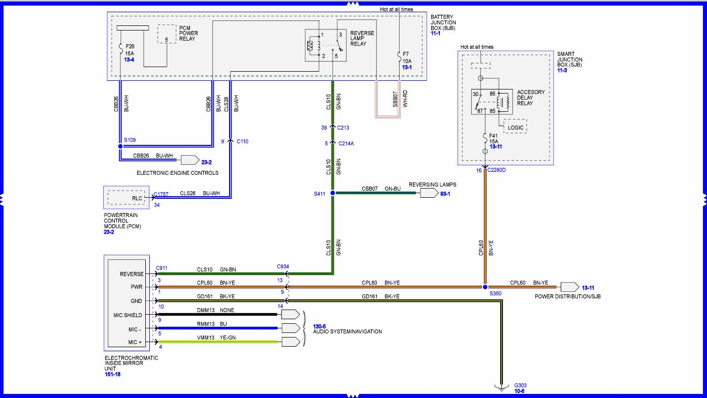 hight resolution of help need wiring diagram for autodimming rearview mirror 2009
