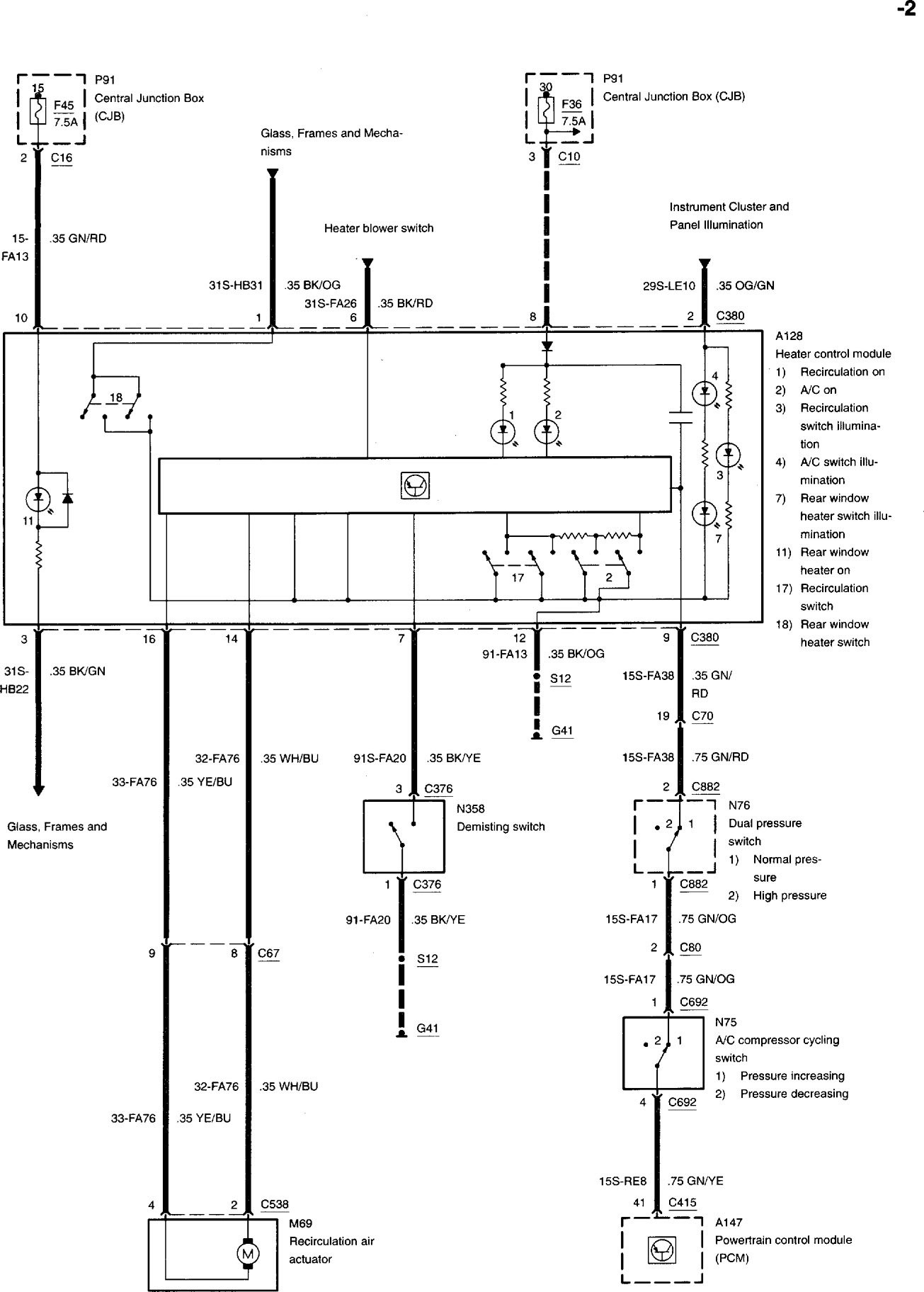 hight resolution of ac compressor clutch electrical issues 2002 ac2 jpg
