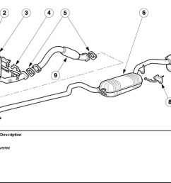 exhaust bracket bolts ford focus forum ford focus st forum ford focus 2007 exhaust diagram [ 1200 x 916 Pixel ]