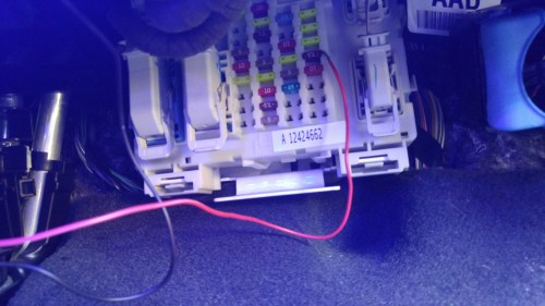 small resolution of how to aftermarket footwell lighting fuse box jpg