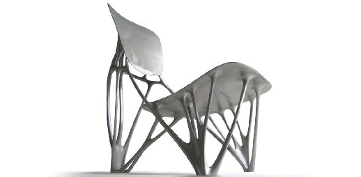 Joris Laarman, Bone Chair, 2006, Material: aluminium Courtesy JorisLaarmanLab